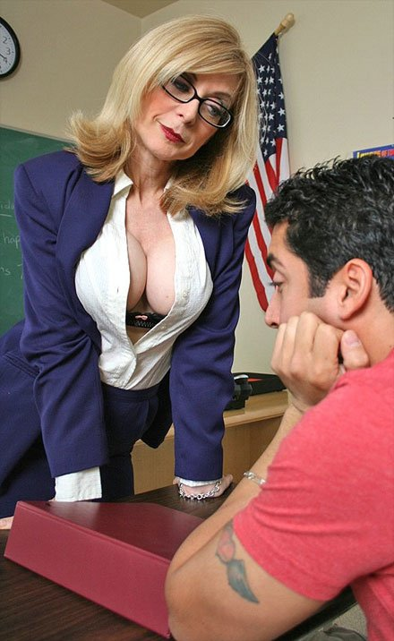nina hartles is a stunning busty teacher